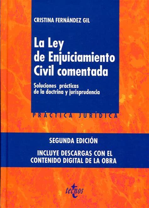 Librería Dykinson   La Ley de Enjuiciamiento Civil ...