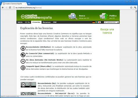 Licencia Creative Commons | Técnicas avanzadas