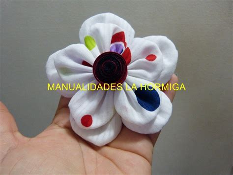 Lindas y Faciles flores de Tela para el cabello, Cute and ...