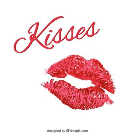 Lipstick kisses Vector | Free Download