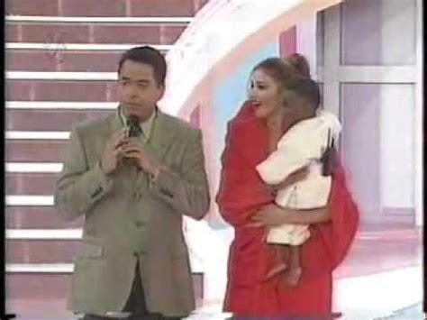 LIZ Y NELSON DE LA ROSA / 1998   SABADO SENSACIONAL   YouTube