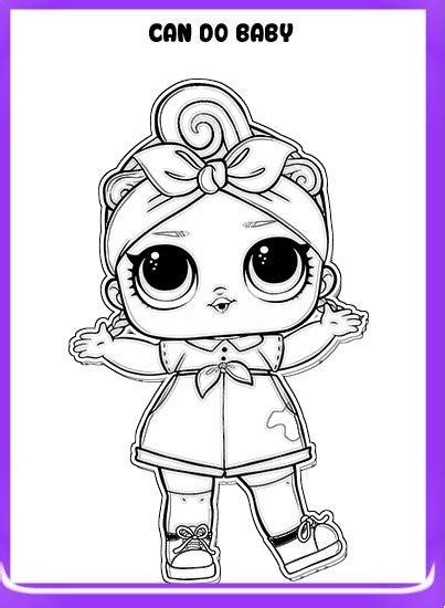 LOL Surprise dibujos para colorear | Todo Peques
