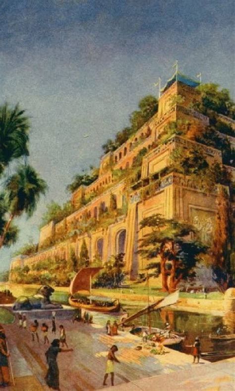 Los jardines colgantes de Babilonia | Blogodisea