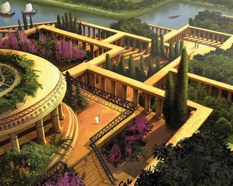 Los Jardines Colgantes de Babilonia   SobreHistoria.com