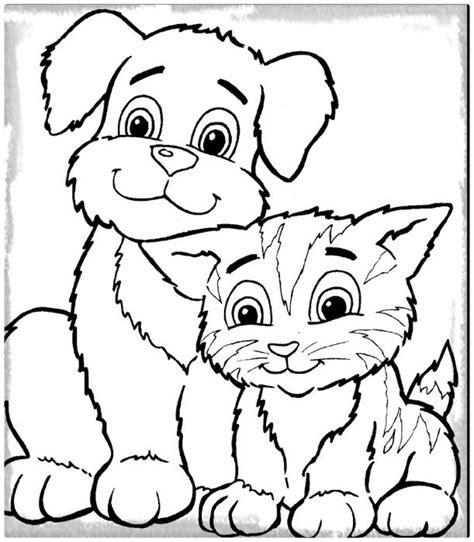 Los Lindos Dibujos de Perros para Colorear e Imprimir