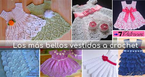 Los más Bellos Vestidos a Crochet para Niña   Patrones ...