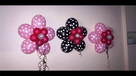Los mejores 30 Ideas para decorar con globos   YouTube