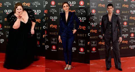 Los mejores looks de la alfombra roja de los Goya 2018 ...