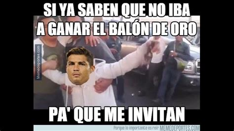 Los mejores memes de la ceremonia del Balón de Oro 2015 ...