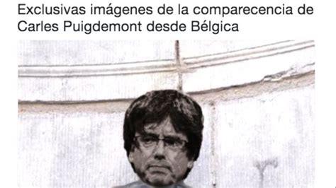 Los mejores memes de la huída de Puigdemont a Bruselas