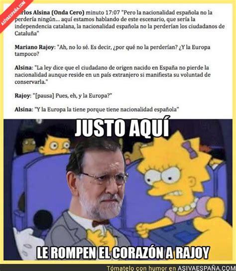 Los mejores memes de Rajoy y su lío con la nacionalidad ...