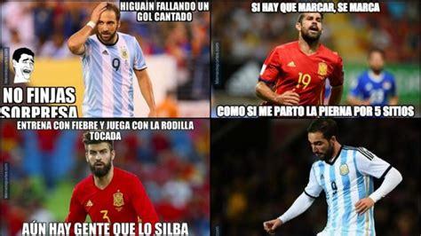 Los mejores memes del España   Argentina