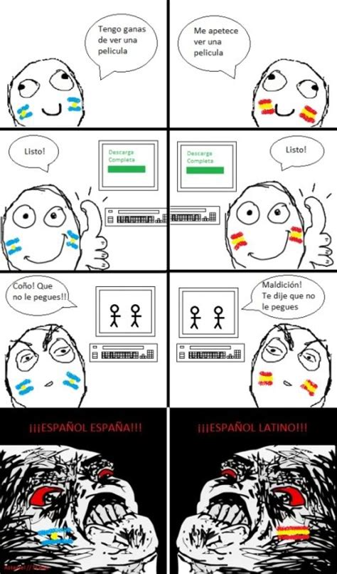 Los mejores memes: Meme   Español de España o Latino?