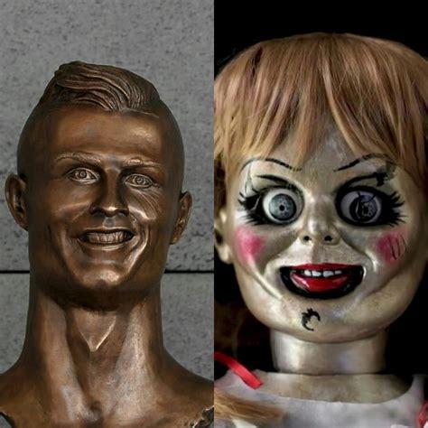 Los mejores memes sobre el busto de Cristiano Ronaldo ...
