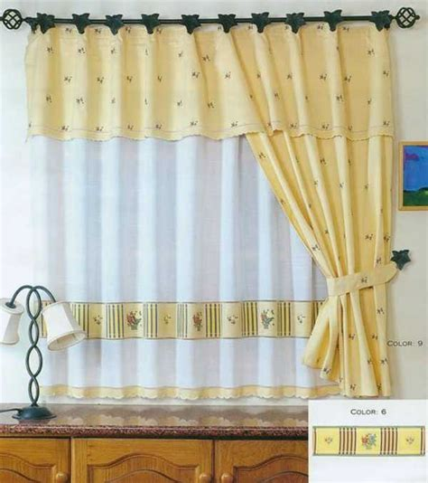 ¡Los mejores modelos de cortinas para una cocina rústica ...