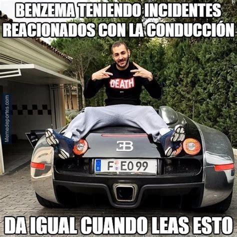 Los mejores 'memes' sobre Benzema y su carnet de conducir