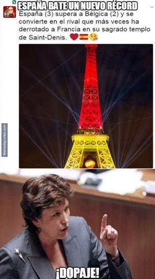 los memes de Francia  España
