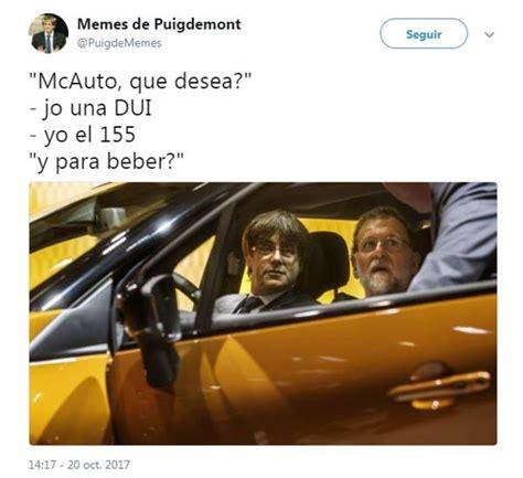 Los memes de la actualidad política en Cataluña
