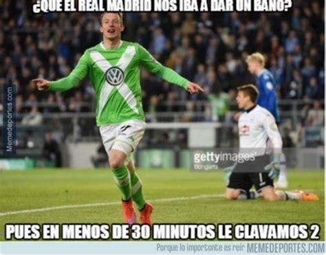 Los memes del Wolfsburgo   Real Madrid