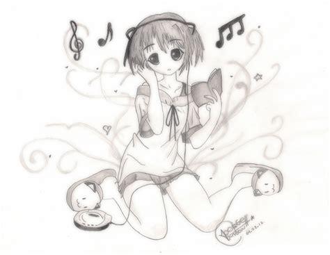 love music Anime   Dibujo speed   YouTube