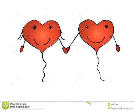 Love Pencil Sketch Cartoon Couple In Love Concept Cartoon ...