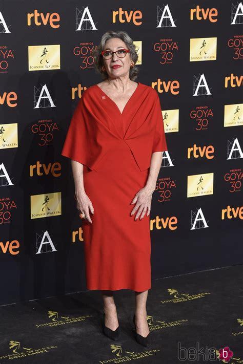 Luisa Gavasa en la cena de los nominados a los Premios ...
