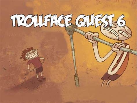 LYHYTTÄ RÖLLIÄ   Pelataan Trollface Quest 6   YouTube