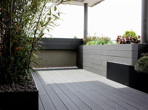 #madera tipo composite en color gris para #exterior en ...