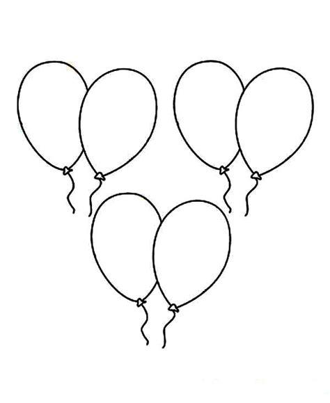 Malvorlagen Luftballons 11