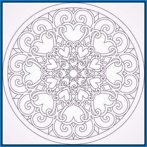 mandalas del amor para colorear Archivos | Dibujos de Mandalas