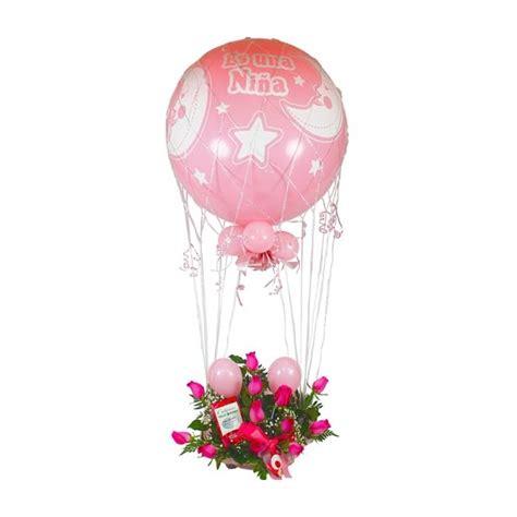 Mandar globo gigante Niña con 12 rosas a Materno Infantil ...