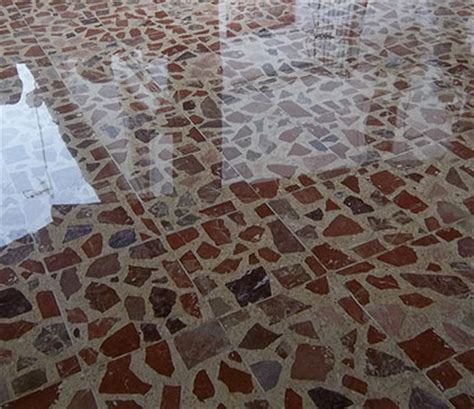 Mantenimiento de suelos de terrazo y de mármol