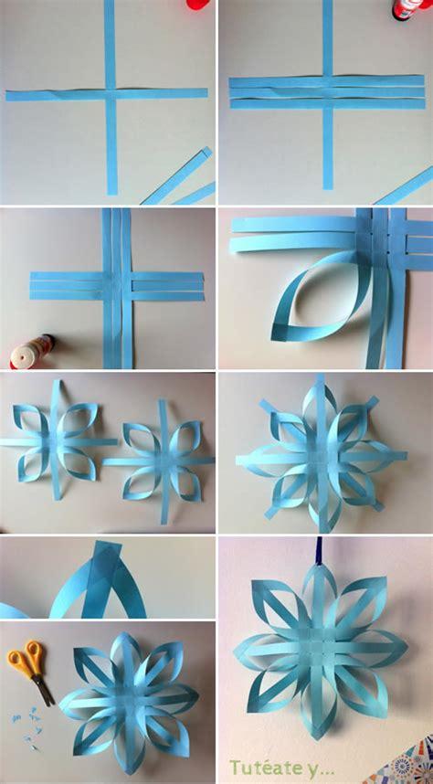 Manualidad: Estrellas de Navidad de papel DIY