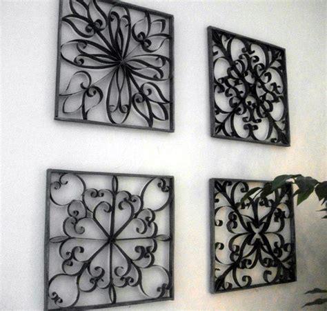 Manualidad para decorar paredes imitación hierro – Decora ...