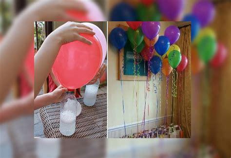 Manualidades: Como inflar un globo sin helio | Todos Somos Uno