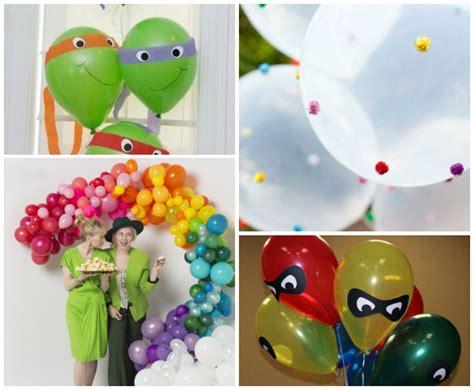Manualidades con globos para decorar una fiesta de ...