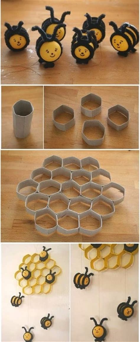 Manualidades con objetos reciclados faciles en casa ...