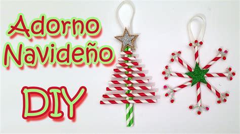 Manualidades de Navidad   2 Adornos navideños  Christmas ...