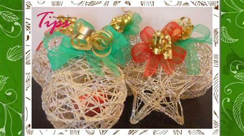 Manualidades de Navidad   Esferas Navideñas   DIY   Ideas ...