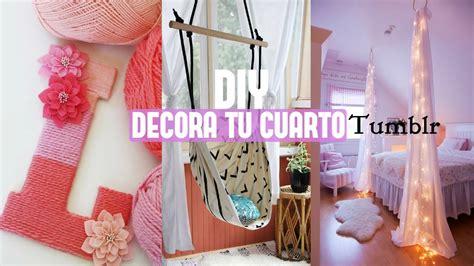 Manualidades DIY Decoracion para tu cuarto Tumblr ...