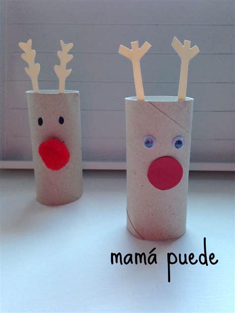 Manualidades fáciles de Navidad   Mamá puede