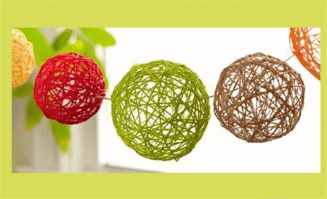 MANUALIDADES fáciles para hacer en casa: Esferas para ...