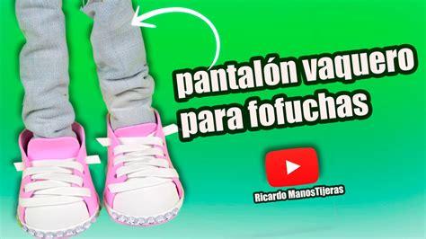 MANUALIDADES FOFUCHAS|PANTALÓN CON TELA VAQUERA o ...