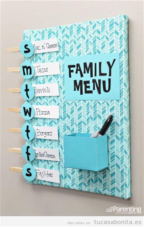 Manualidades para decorar, organizar y ordenar tu casa ...