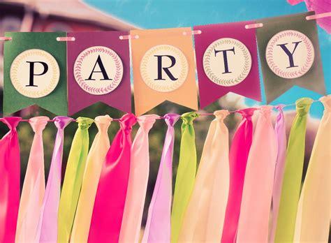 Manualidades para decorar una fiesta, ¡te encantarán!