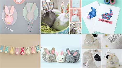 Manualidades para hacer conejos de Pascua   Blog de Hogarmania