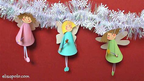 Manualidades para Navidad, Hadas para el Árbol de Navidad ...