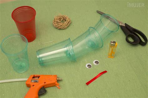 Manualidades para niños con materiales reciclados   IMujer