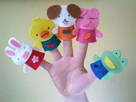 Manualidades para niños: fotos marionetas dedo  Foto ...