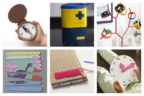 Manualidades para niños usando materiales reciclados ...